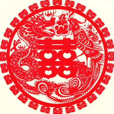 chinese paper cutting templates dragon - 4 s and 8 s on the felt